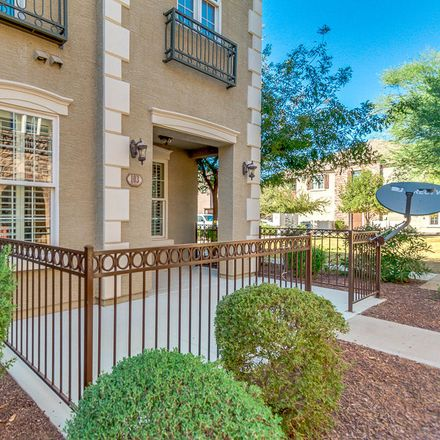 Rent this 3 bed townhouse on 2767 South Equestrian Drive in Gilbert, AZ 85295