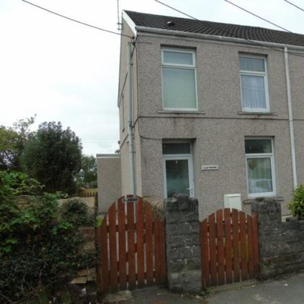 Rent this 2 bed house on Adfer Medical Group in Llwynhendy Road, Dafen SA14 9BN