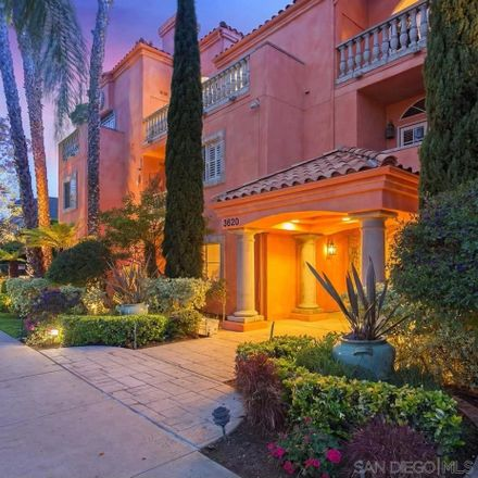 Rent this 2 bed townhouse on 3620 3rd Avenue in San Diego, CA 92103