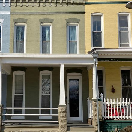 Rent this 2 bed townhouse on 1114 West 38th Street in Baltimore, MD 21211