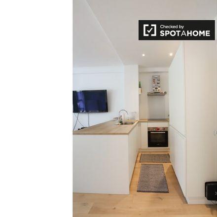 Rent this 1 bed apartment on Avenue Winston Churchill - Winston Churchilllaan 78 in 1180 Uccle - Ukkel, Belgium
