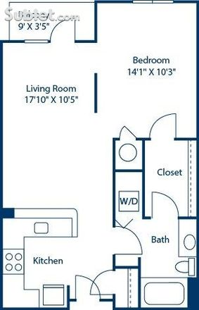 Rent this 1 bed apartment on Inspire Southpark in 345 Sharon Township Lane, Charlotte