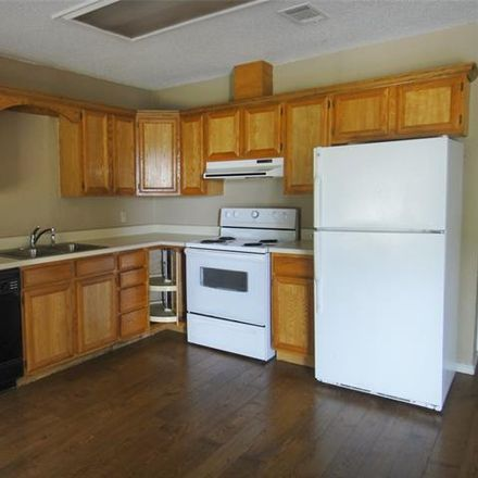 Rent this 3 bed duplex on Pockrus Paige Rd in Denton, TX