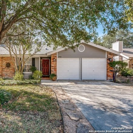 Rent this 3 bed house on Wakeman St in San Antonio, TX