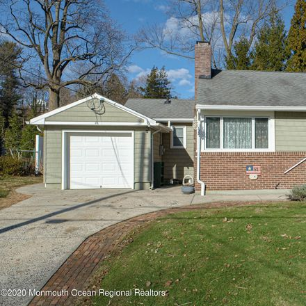 Rent this 3 bed house on 81 Woodbine Avenue in Little Silver, NJ 07739