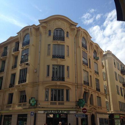 Rent this 1 bed apartment on 17 Rue Pertinax in 06000 Nice, France