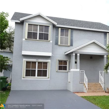 Rent this 5 bed house on 490 Northwest 102nd Terrace in Pembroke Pines, FL 33026