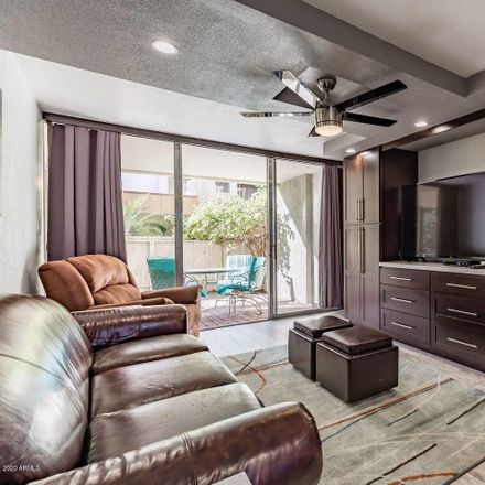 Rent this 1 bed apartment on 7625 East Camelback Road in Scottsdale, AZ 85251