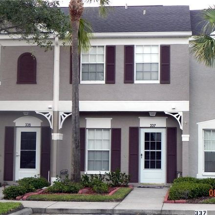 Rent this 2 bed townhouse on 337 Countryside Key Boulevard in Harbor Palms, FL 34677
