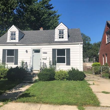Rent this 3 bed house on Chatham St in Redford, MI