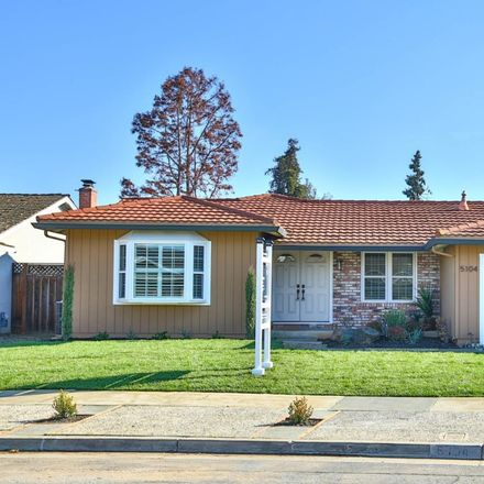 Rent this 4 bed house on 5104 Fell Avenue in San Jose, CA 95136