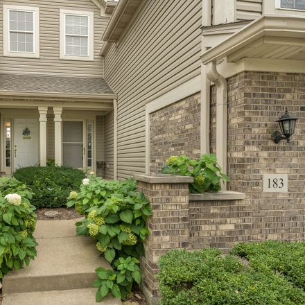 Rent this 3 bed townhouse on 183 River Mist Drive in Oswego, IL 60543