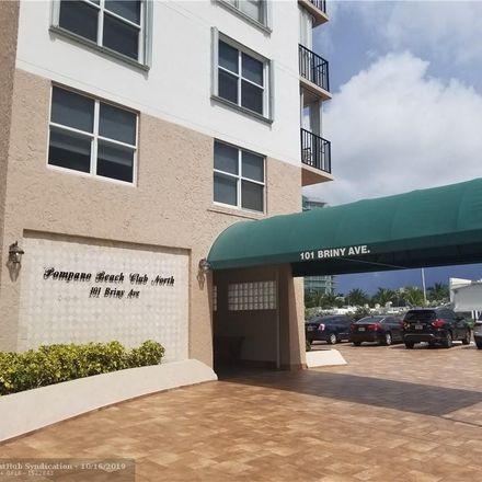 Rent this 1 bed condo on 101 Briny Avenue in Pompano Beach, FL 33062