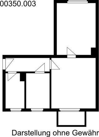 Rent this 2 bed apartment on Heinrich-Heine-Straße 24 in 06366 Köthen, Germany