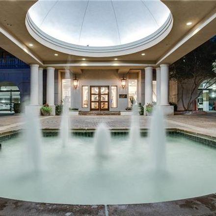 Rent this 2 bed condo on 3500 Fairmount Street in Dallas, TX 75219