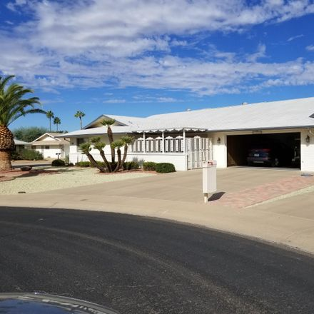 Rent this 3 bed house on 17639 North 131st Drive in Maricopa County, AZ 85375