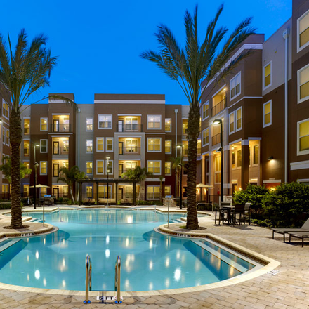 Rent this 1 bed apartment on Orange County in FL 32816, USA