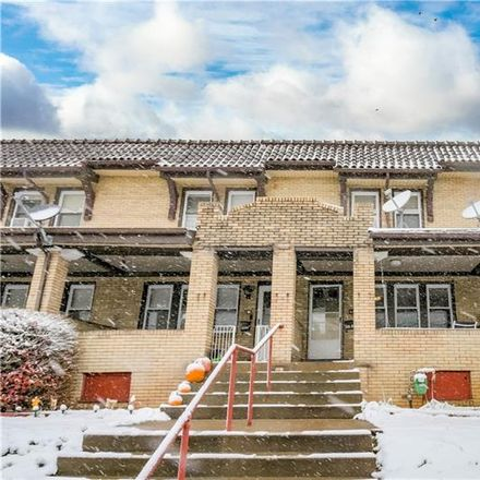Rent this 3 bed house on 6321 Stanton Avenue in Pittsburgh, PA 15206