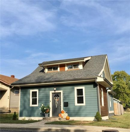 Rent this 3 bed house on 701 North Emerson Avenue in Indianapolis, IN 46219