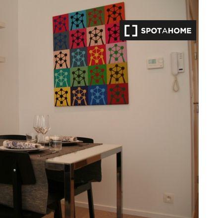 Rent this 1 bed apartment on Rue Moris - Morisstraat 35 in 1060 Saint-Gilles - Sint-Gillis, Belgium