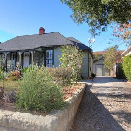 Rent this 3 bed house on 208 West Valerio Street in Santa Barbara, CA 93101