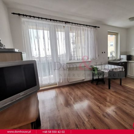 Rent this 1 bed apartment on Andrzeja Grubby 1 in 80-180 Gdansk, Poland