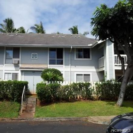 Rent this 2 bed townhouse on Paioa Place in Waipahu, HI 96797-5640
