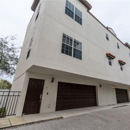 Rent this 3 bed townhouse on 2315 West North A Street in Tampa, FL 33609