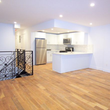Rent this 1 bed apartment on 129 Quincy Street in New York, NY 11216