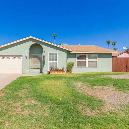 Rent this 3 bed house on 2520 East Impala Avenue in Mesa, AZ 85204