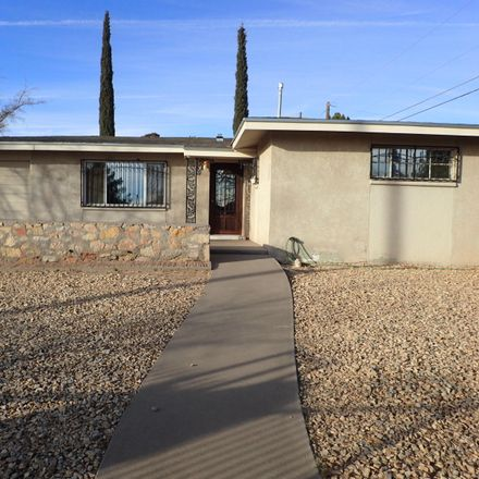 Rent this 3 bed apartment on Cook Dr in El Paso, TX
