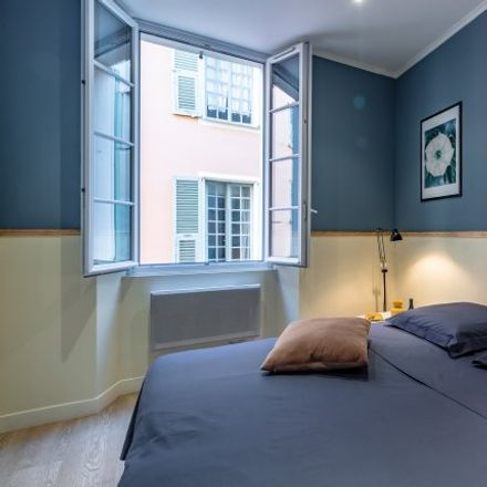 Rent this 1 bed apartment on 3 Rue du Marché in 06000 Nice, France