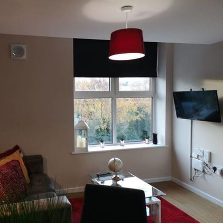 Rent this 1 bed apartment on J Mills Contractors Ltd in 8 Brindley Road, Trafford M16 9HQ