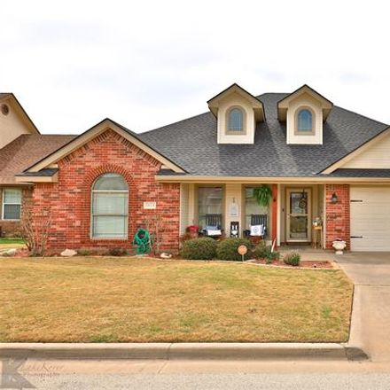 Rent this 3 bed house on Founders Pl in Abilene, TX
