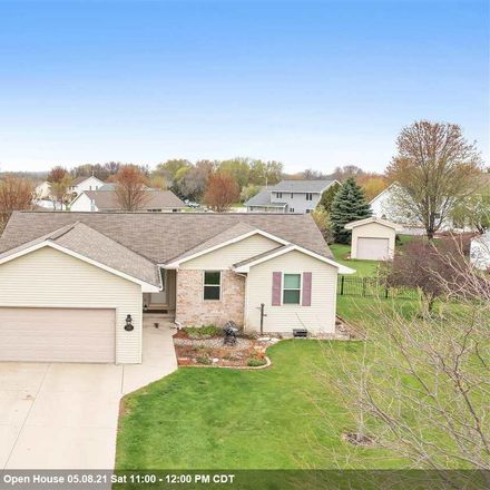 Rent this 3 bed house on 1583 McRae Place in Bellevue, WI 54311