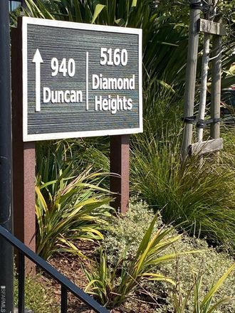 Rent this 1 bed apartment on 5160 Diamond Heights Boulevard in San Francisco, CA 94131