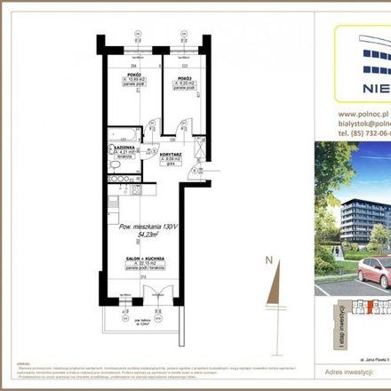 Rent this 3 bed apartment on Wierzbowa 7 in 15-743 Białystok, Poland