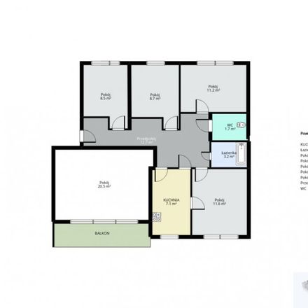 Rent this 5 bed apartment on 31-156 Krakow