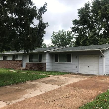 Rent this 3 bed house on 1050 Briarbrae Drive in Spanish Lake, MO 63138