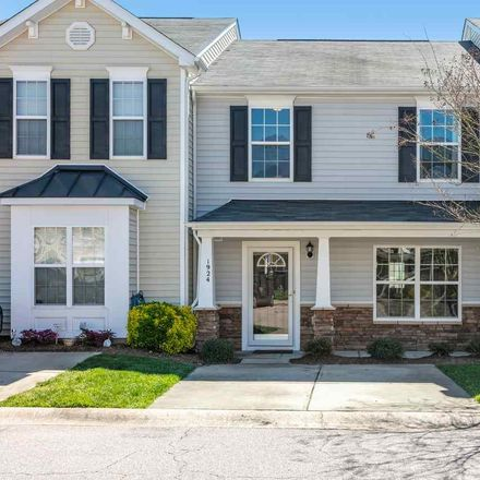 Rent this 3 bed townhouse on 1924 Grassy Banks Drive in Raleigh, NC 27610