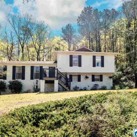 Rent this 4 bed house on 1065 Forest Brook Drive in Homewood, AL 35226