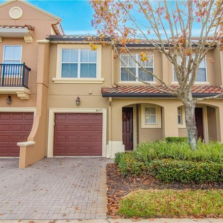 Rent this 3 bed townhouse on Timarron Ln in Orlando, FL