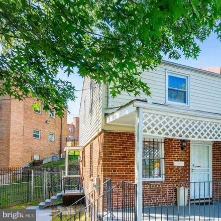 Rent this 2 bed townhouse on 828 50th Place Northeast in Washington, DC 20019