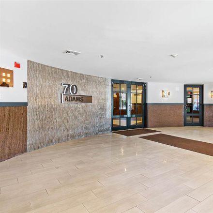Rent this 2 bed condo on 70 Adams Street in Hoboken, NJ 07030