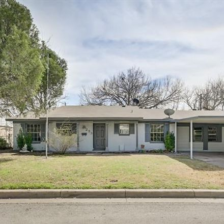 Rent this 4 bed house on 253 Hialeah Park Street in Saginaw, TX 76179