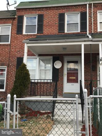 Rent this 2 bed townhouse on 509 Sunset Road in Baltimore, MD 21223