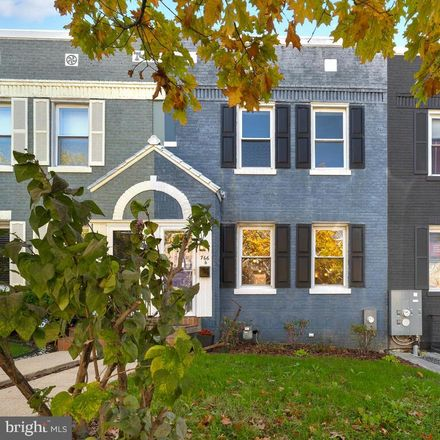 Rent this 3 bed townhouse on 766 Princeton Place Northwest in Washington, DC 20010