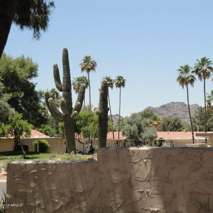 Rent this 2 bed townhouse on 7552 North San Manuel Road in Scottsdale, AZ 85258