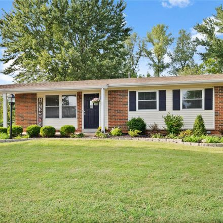Rent this 3 bed house on 11969 Longmont Drive in Maryland Heights, MO 63043