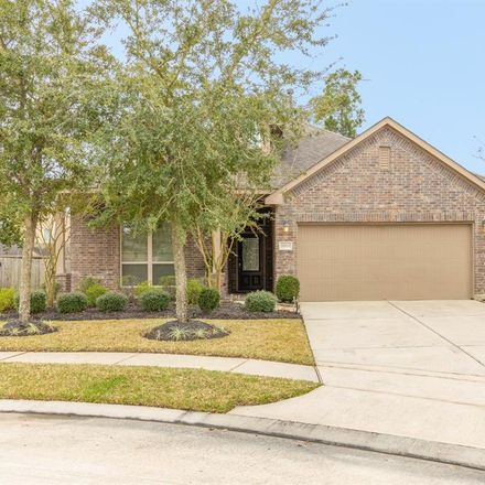 Rent this 4 bed house on Otter Creek Trl in Humble, TX